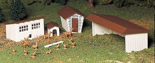 【楽ギフ_包装】 Plasticville B0042PMRGY u.s.a. ( ( R )クラシックキット – -ファームout-buildings Pkg ( 3 3 ) B0042PMRGY, サカチョウ:b28ddf46 --- a0267596.xsph.ru