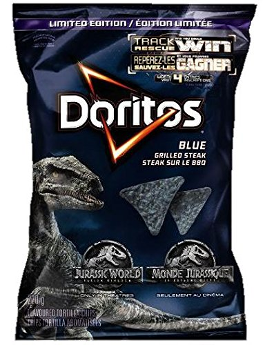 Chips Potato Blue (Doritos Blue Grilled Steak - 220g {Imported from Canada})