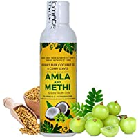 Vriddhi Amla Hair Oil with Methi (Fenugreek) and Curry Leaves for Reduce Hair Fall and Rejuvenate Hair Follicles…