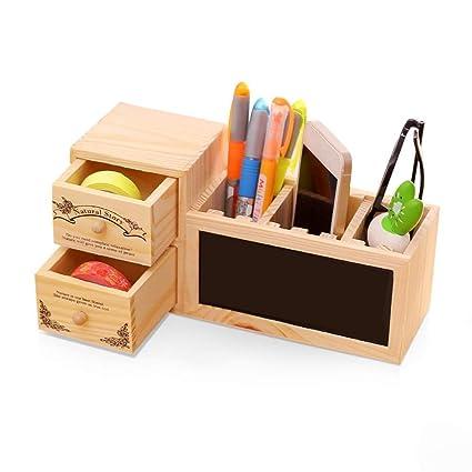 Lvcky - Estuche Organizador para lápices de Madera ...
