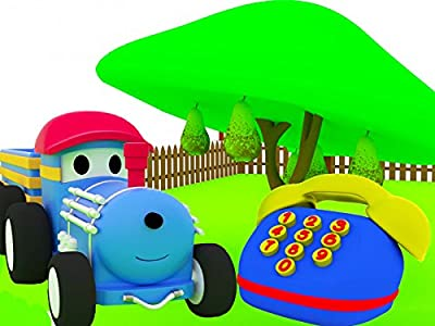Learn Fruits and Numbers with Ted The Train : The Fruit Trees / The Broken Telephone