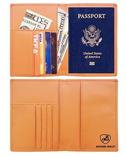 Blocking Passport Holder Wallet Organizer
