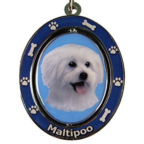 Maltipoo Key Chain