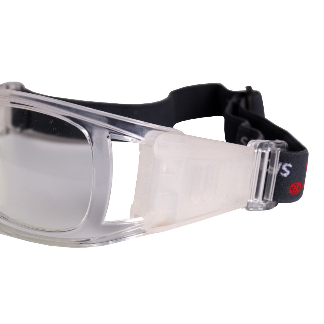 a01bfff6ec07 Andux Basketball Soccer Football Sports Protective Eyewear Goggles Eye  Safety Glasses LQYJ-01 (White)