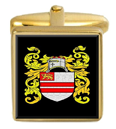 - Select Gifts Lancaster England Family Crest Coat Of Arms Heraldry Cufflinks Box Set Engraved