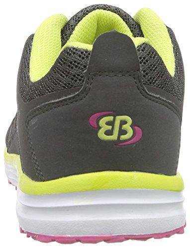 Bruetting Effect - Zapatillas de deporte Mujer Gris - Grau (anthrazit-pink-gelb)
