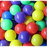100 Pcs Colorful Soft Plastic Ocean Fun Ball Balls Baby Kids Tent Swim Pit Toys Game Gift 5.5cm