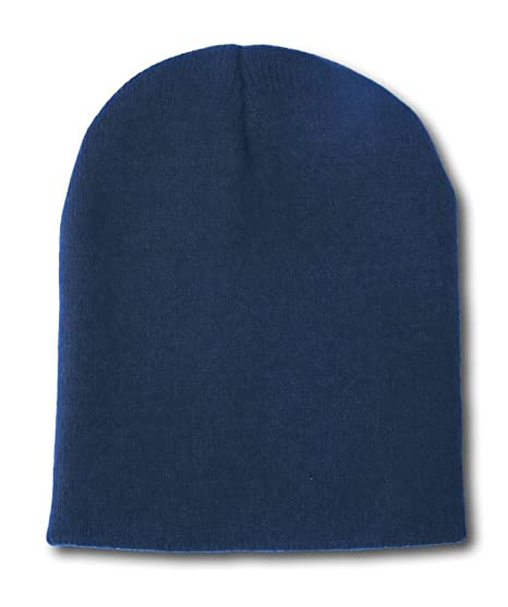 Blank Short Beanie Cap- Many Colors Available 2661a250806