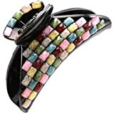 Colorful Acrylic Hair Claw Jaw Pin Butterfly Clip Hair Styling Accessories Gift for Women Teens Girls