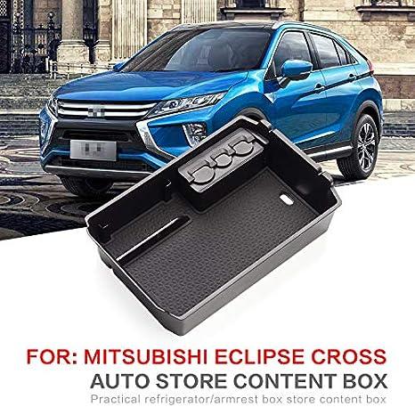 Linfei Auto Mittelarmlehne Box Für Mitsubishi Eclipse Cross 2018 2019 Innenraum Münzlager Zubehör Verstauen Aufräumen Auto