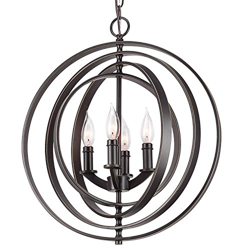 18 Globe Pendant Light