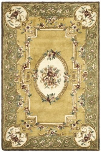 - Classic Aubusson Rug Rug Size: 2'3