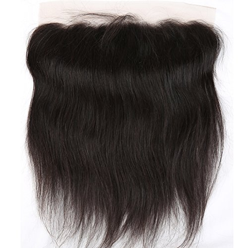 Sent Hair Lace Frontal Closure Human Hair Straight Free Part with Baby Hair Ear to Ear Brazilian Virgin Hair Frontal 13x4 Natural Color 20 inch -  Qingdao Sent Hair Products Co.,Ltd., ST-LFC-F20