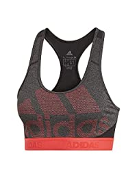 adidas Women's Training Don't Rest Alphaskin Sport Logo Bra