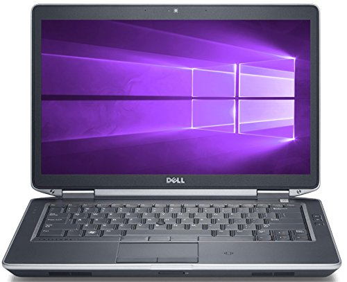 (Dell Latitude E6430 Laptop WEBCAM - HDMI - Intel Core i5 2.6ghz - 8GB DDR3 - 128GB SSD - DVD - Windows 10 Pro 64bit - (Renewed) )