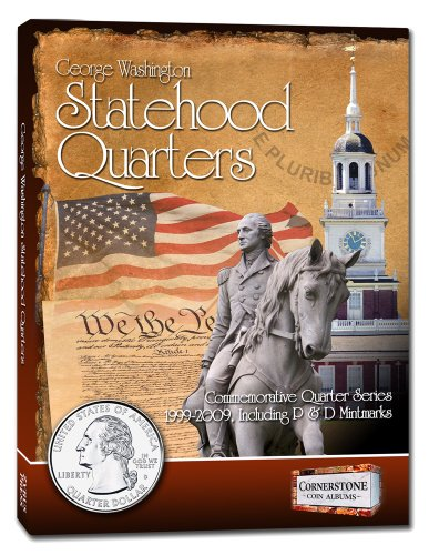 Statehood Quarters Album 1999-2009, P&D (Cornerstone Coin Albums)