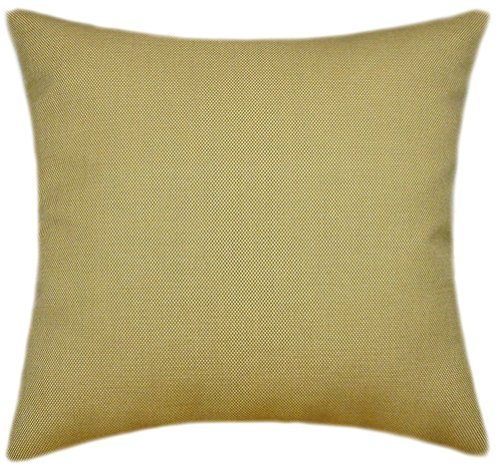 (Sunbrella Sailcloth Spice Indoor/Outdoor Pillow 14x14 (Small))