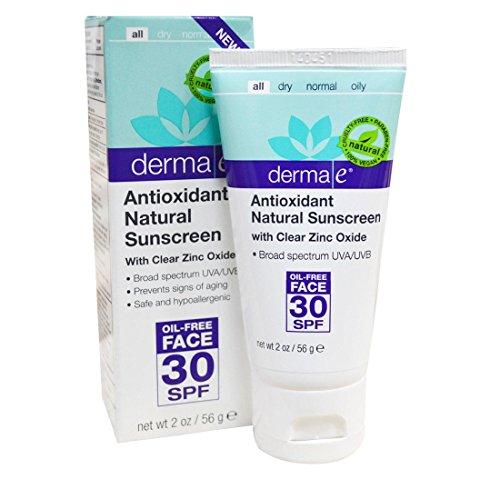 Antioxidant Natural Sunscreen Oil Free Lotion