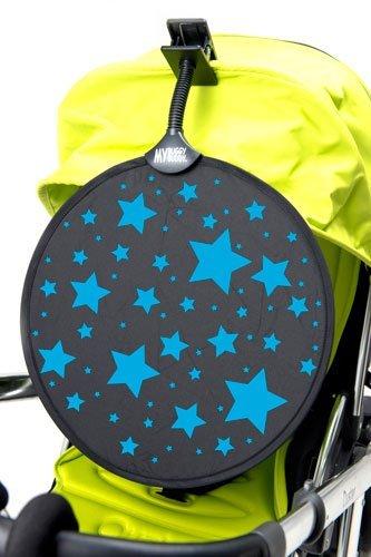 My Buggy Buddy Ombrelle étoiles (Bleu) MBBSHADEBLSTAR