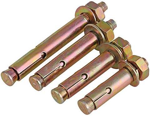 Length : 60mm, Size : M12 External expansion screw expansion bolt tension explosion screw explosion screw M6 M8 M10 M12 5PCS