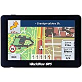 "WORLDNAV TTC588060 6.70in. x 4.50 Pulgadas. x 3.60in 5880 Camión GPS de Alta resolución 5"" con Bluetooth"