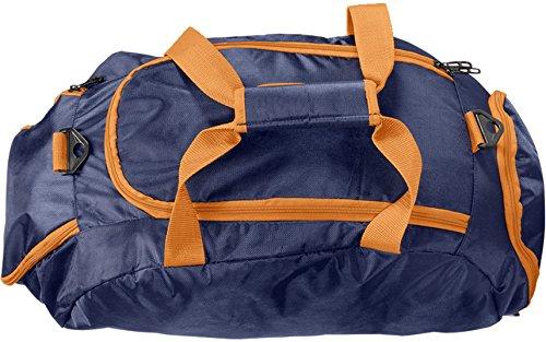 2c1af78dd377d Rucksack Tasche 2 in 1 Sporttasche 40 Liter - Leichte Rucksacktasche für  Sport und Freizeit … Dunkel Blau Grün  Amazon.de  Koffer