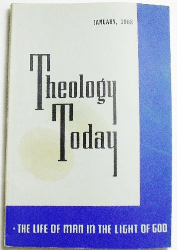 Theology Today (Volume XXIV Number 4, January 1968)