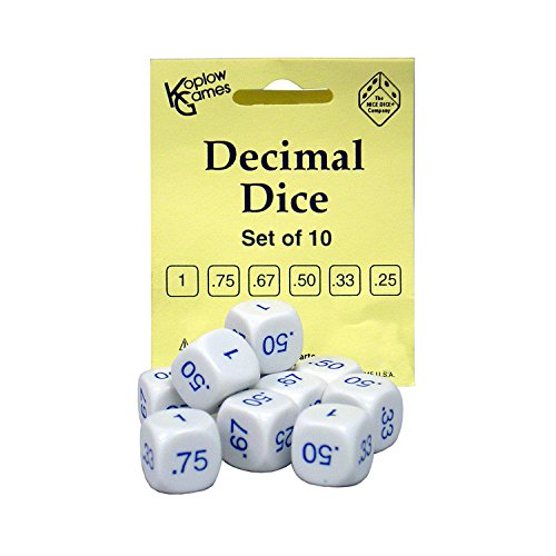 Koplow Games KOP12088 Decimal Dice Game Set