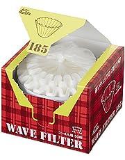 Kalita Golffilters Kwf-155 Pack van 50 vel wit Handig doostype voor het uitnemen en opslaan van 22211 (Japan Import) (155 (1 tot 2 personen))