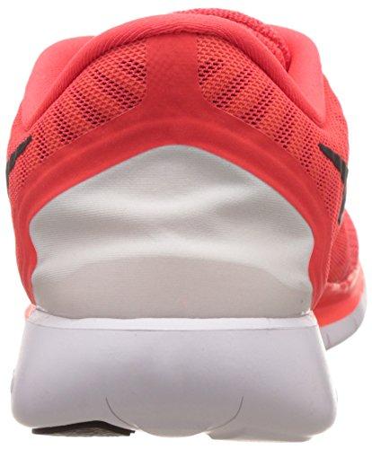 Nike Herren Free 5.0 Laufschuh Bright Crmsn / Black-total Orange-hell