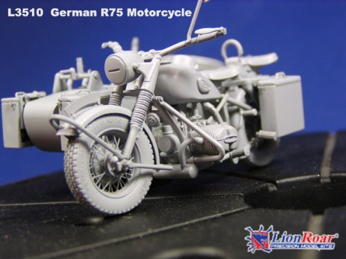 Lionroar BMW R75 Motorcycle with Sidecar 1:35 Scale for sale  Delivered anywhere in USA