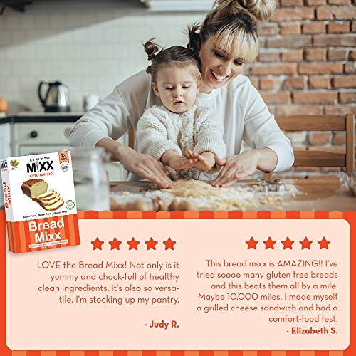 Bread Mixx, Low Carb Keto Bread Mix with Almond Flour, Keto Friendly Mix for Low-Carb Bread, 255 g - It's All In The Mixx 2