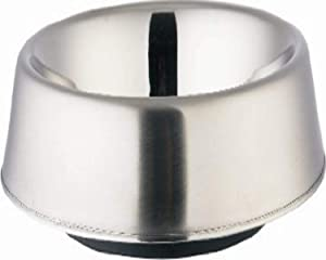 Indipets Stainless Steel Anti Ant No Skid Dish, 32-Ounce