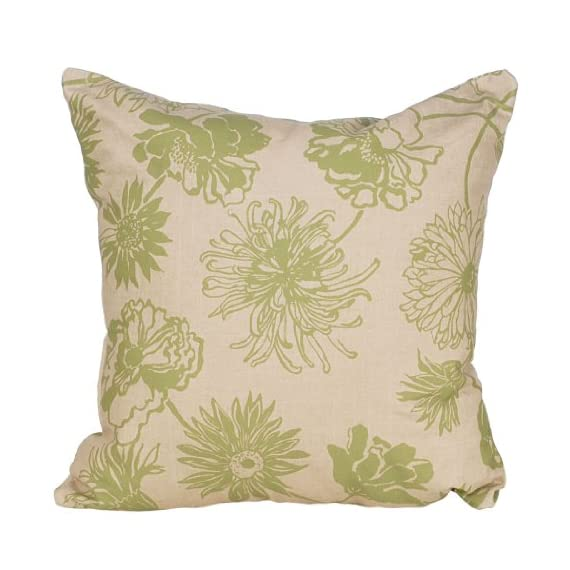 Codson Park Outdoor Square Pillow, 20-Inch, Maystone Olive Knife Edge Finish - 500 Hour UV tested to be fade resistant Our fabric is hand picked by experts for top fashion and quality Outdoor fabric is made from high quality spun polyester - patio, outdoor-throw-pillows, outdoor-decor - 51amaeSVIwL. SS570  -