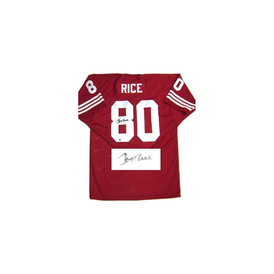 Jerry Rice San Francisco 49ers Autographed Throwback Jersey