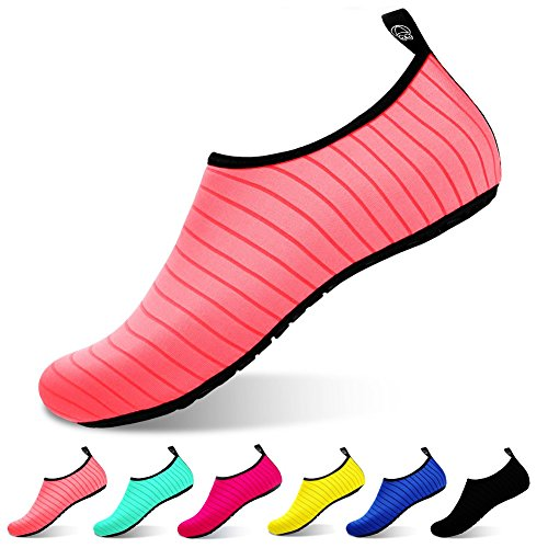 for Quick Kids Water Shoes Barefoot Dry Surf Sports Shoes VOVOCAT Yoga Beach Red Women Men for Swim fgYHqn5