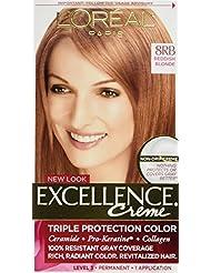 L'Oreal Excellence Creme 8RB Medium Reddish Blonde (...