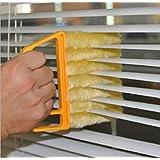 Demarkt 7 Brush Venetian Blind Clean Dust Cleaner Slats Mini Duster Washable Easy