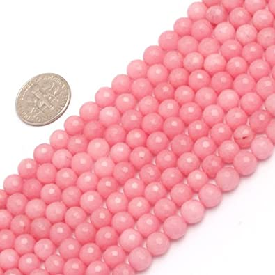 6MM Butter Jade Beads Grade AAA Genuine Natural Micro Faceted Round Gemstone Loose Beads 105410 59  30 Pcs
