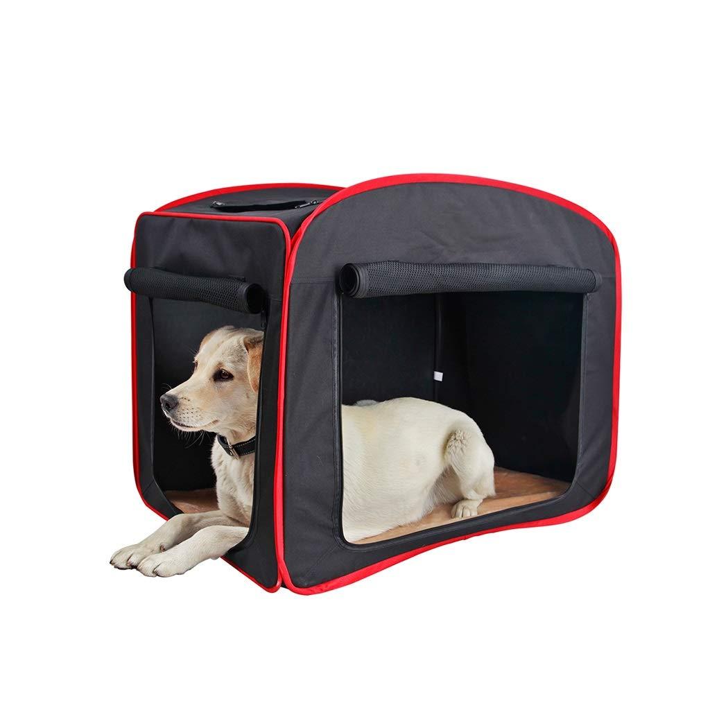 S FJH Dog Handbag Out Of The Carrying Case Car Bag Kennel Cat Litter Pet Nest Pet Travel Bag (Size   S)