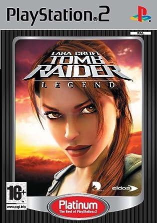 Tomb Raider Legend Ps2 Platinum Lara Croft Tomb Raider