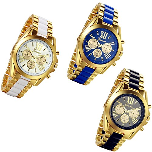 Watch Men's watches three decorative steel quartz watch - 4