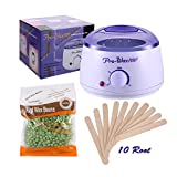 Cheap ACEVIVI Wax Warmer with Hard Wax Beans for Unwanted Hair Remove, Special Designed for All Parts, Suitable for Both Women and Men