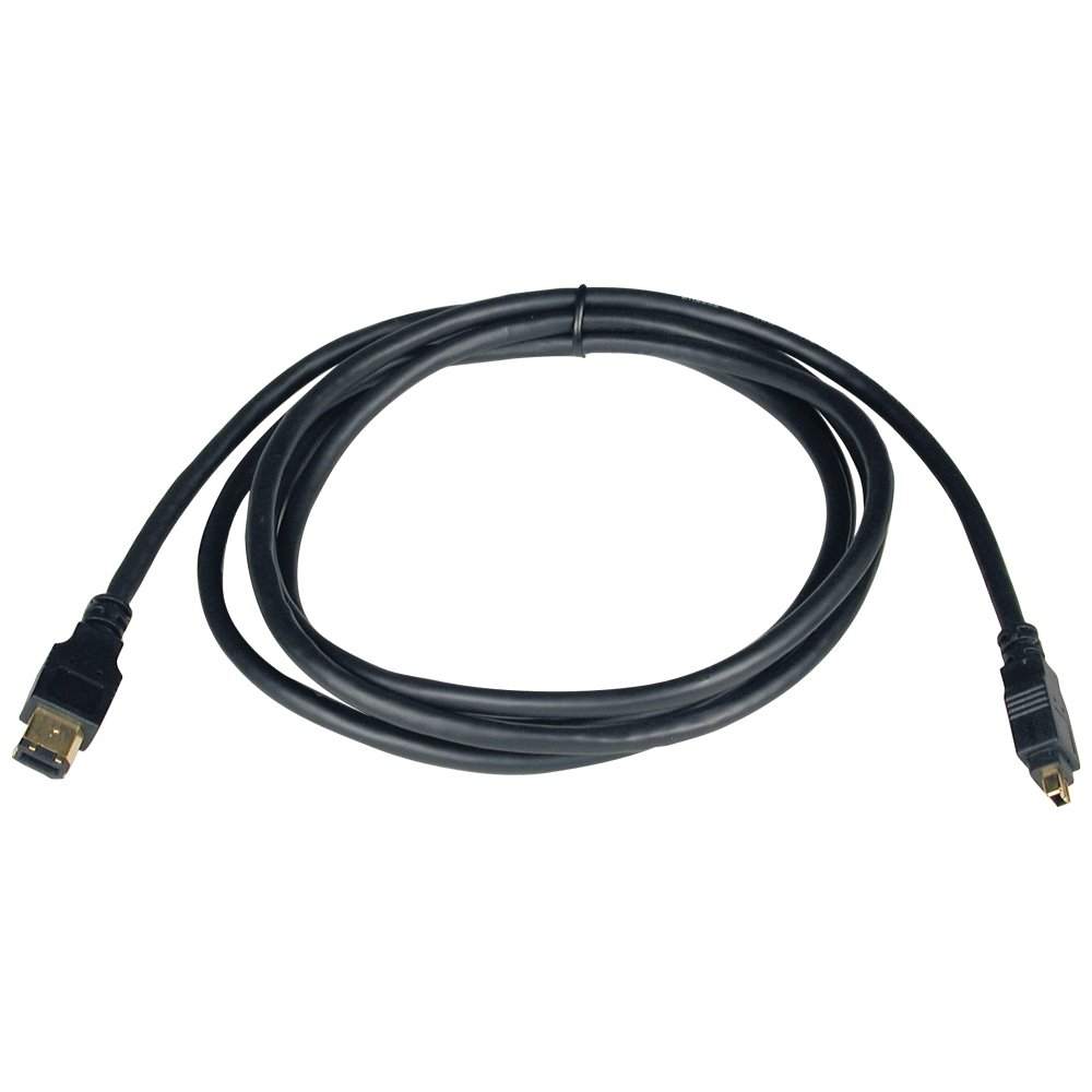 4Pin//4P Firewire Ieee 1394 Cable F009-006 6-Ft