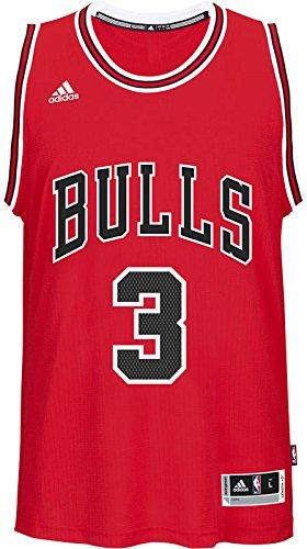db5aa62bb Chicago Bulls Adidas NBA Doug McDermott  3 Road Swingman Jersey. (Red) 2XL