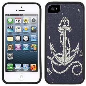 Anchor Nautical Handmade iPhone 5 5S Black Case