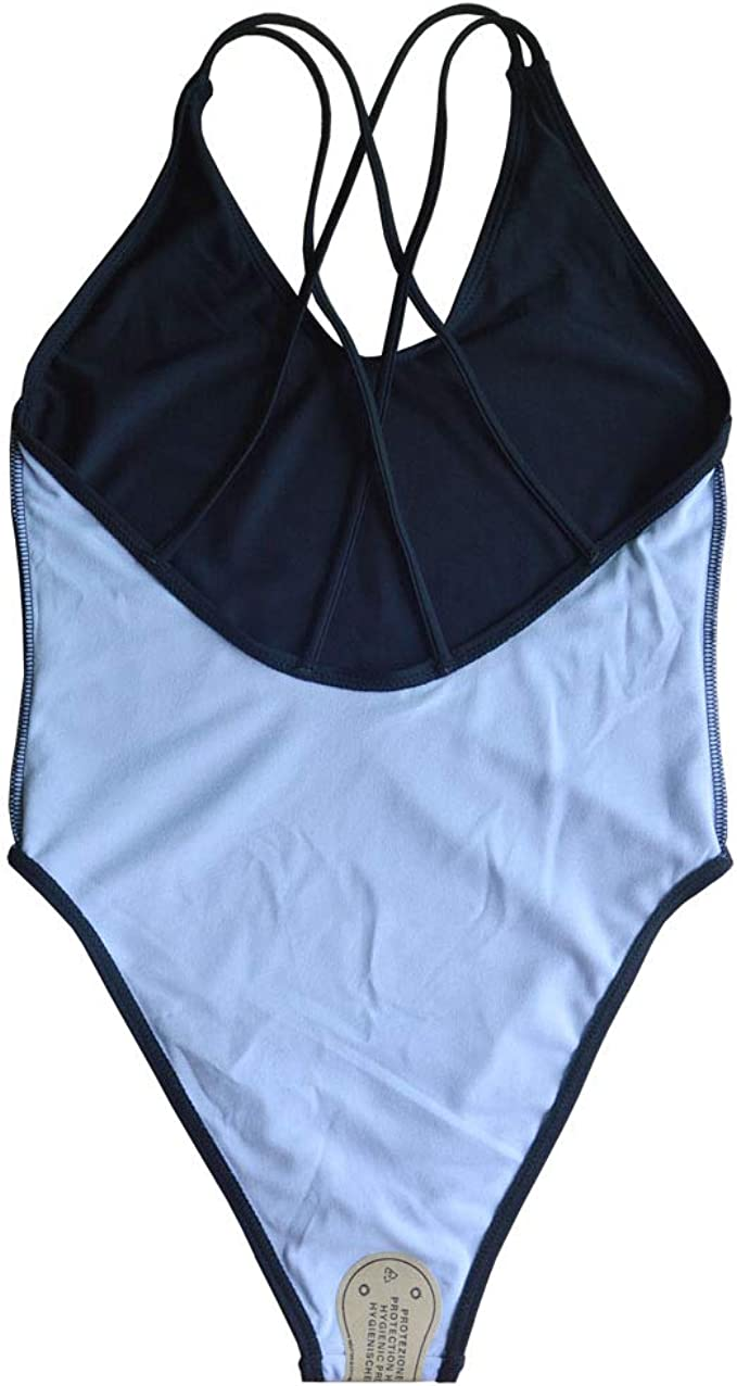 NEW Protective Hygienic Swimsuit 50-100 Blue or Black Print