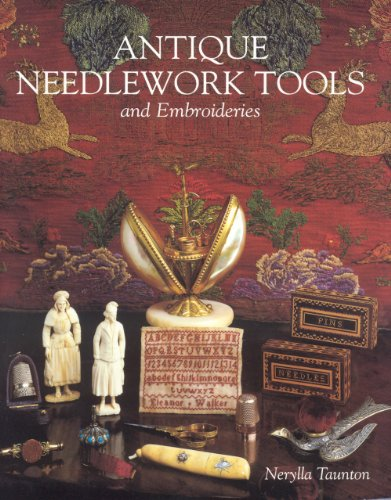 Antique Needlework Tools and Embroideries 1900 Embroidery