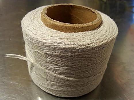 Mecha de algodón Mechas sin blanquear 5Ply 1 mm 420 m bobina ...