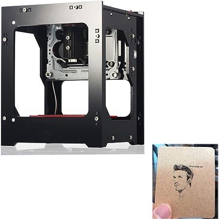 GNXTNX Nueva Mini Máquina De Grabado Láser Plotter De Impresión Mini Máquina De Marcado APLICACIÓN Bluetooth Portátil,1500mw: Amazon.es: Hogar